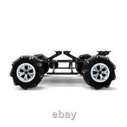 Big Size Mecanum Wheel Robot Smart Car Chassis Omnidirectional for Raspberry Pi
