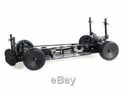 Blaze 1/10 Touring Car Full Carbon Fiber Race Chassis Rz4 Assembled Kit 4wd Rc