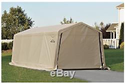 Boat Storage Shelter Metal Carport Frame Steel Car Large Garage Tent Auto Snow