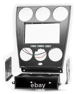 CARAV 11-106 Car Stereo Radio Fascia Panel Frame Kit MAZDA 6 2002-07 Manual A/C