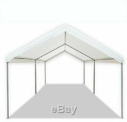 CARPORT CAR PORT TENT Canopy Shelter 10 x 20 Ft Steel Heavy Duty Frame
