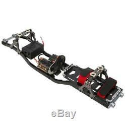 CNC&Carbon 110 4WD RC Car Frame Kit With Motor for AXIAL SCX10 I RC Crawler Car