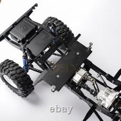 CNC Metal 275mm Wheelbase Frame Chassis for 1/10 RC Car Defender D90 Gelande II