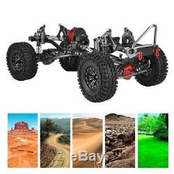 CNC Metal Carbon Frame 313MM Body For 1/10 RC Crawler Cars AXIAL SCX10 Accessory