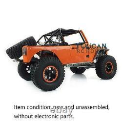 Capo 1/8 JKMAX RC Racing Car Metal Chassis Crawler KIT Orange Painted Unassemled
