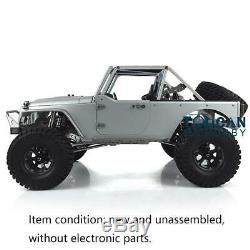 Capo 1/8 JKMAX RC Racing Car Rock Crawler KIT Metal Chassis Unassembled Unpaint