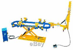 Car Bench UL300 Auto Body Collision Repair System Frame Machine 7700 lb Capacity
