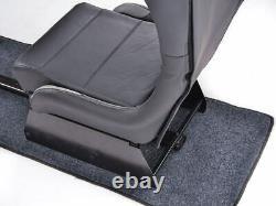 Car Gaming Suzuka Racing Sim Frame Chair Bucket Seat Black/Silver Forza XBOX PS4