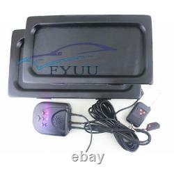 Car Shutter Cover Up Electric Stealth Blinds License Plate Frame Holder + Remote