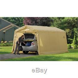 Compact Auto Shelter Instant Garage Carport Steel Frame Car Storage Canopy Tent