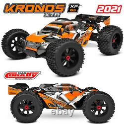 Corally C-00173 KRONOS XTR 6S Model 2021 1/8 Monster Truck LWB Roller Chassis