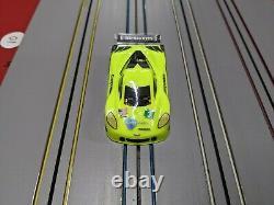 Custom V1 Viper HO 1/64 Slot Car Chassis Body & Aluminum Rims
