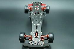 D1 rwd DRR-01 SN RC Grand Prix 1/10 RC Drift Car Rolling Chassis OZRC JL