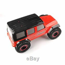 D90 RC 110 Rock Crawler Axial Car 4WD SCX10 Carbon Fiber Chassis+Body Shell Kit