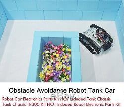 DIY Robot Tank Arduino Raspberry Pi Robot Car Electronics Parts Kit With Tutorial