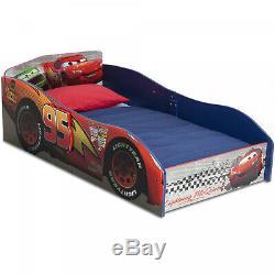 Delta Children Wooden Toddler Boys Bed Frame, Disney cars Kids Bedroom Race Car
