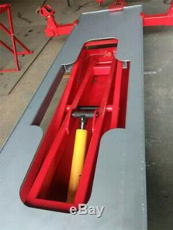 European type car straightening frame machine