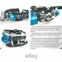 FIJON FJ9 1/10 Front Engine Design RC Car Parts Drift Frame Bulldog Alternative