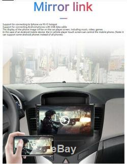 For 2009-2014 Chevy Cruze 9'' Android 9.1 Car Stereo Radio GPS MP5 Player +Frame