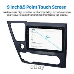 For 2014-2017 Honda Civic 9'' Android 8.1 Car Stereo Radio GPS FM 2+32G with Frame