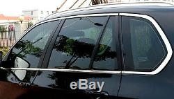 For BMW X5 E70 Window Sills Frame Molding Trim Steel 10pcs 2008-2013 Car Styling