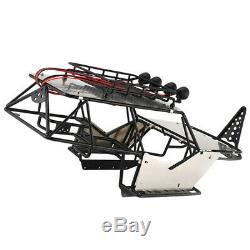 Frame Body Roll Cage f/Wraith RC 110 Scale Axial RC Car Crawler Truck Metal