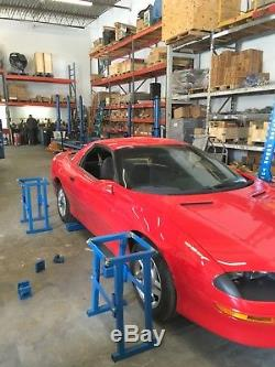 Frame Machine For Cars MID Rise Lift With 10 Ton Pulling Tower Body Work Repairs