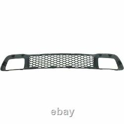 Front Bumper Cover + Low Grille + Frame For 2014-2016 Jeep Grand Cherokee