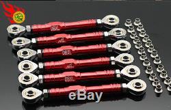 GTB upper + lower suspension tie rod steering tie rod turnbuckle Losi DBXL XL-e