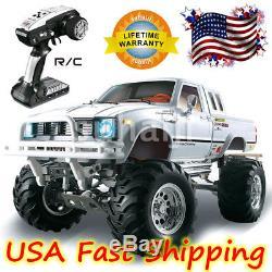 HG 1/10 RC Pickup 44 Rally Car Series Racing Crawler KIT Model Chassis Axles US