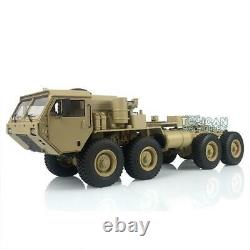 HG 1/12 RC P802 US Military Truck Model Metal 8x8 Chassis Car Radio Motor Servo