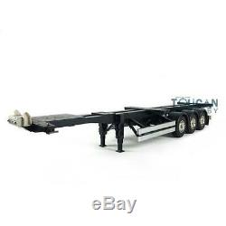 Hercules 1/14 RC 40ft Container Chassis Semi Trailer Tractor Truck DIY TAMIY Car