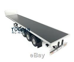 Hercules 1/14 Scale Chassis Flatbed Semi Trailer for TAMIYA RC Tractor Truck Car