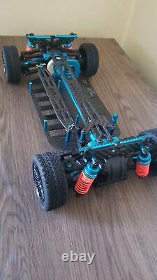 High Quality 1/10 RC Aluminum Alloy & Carbon Shaft Drive Touring Car Frame Kit