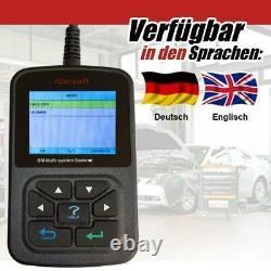 ICarsoft i810 KFZ Diagnose für Mercedes BMW VW GMC Ford Peugeot Chevrolet