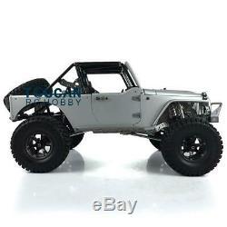 JKMAX Metal Rock Crawler Car KIT Model Capo 1/8 RC Racing 336 Wheelbase Chassis