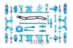 Jazrider Aluminum Conversion Upgrade Kit For Tamiya TT-02 Chassis
