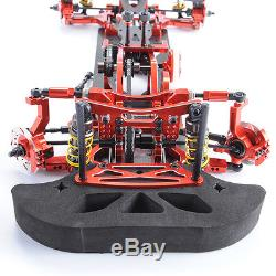 Metal&Carbon RC 110 Drift Racing Car G4 Frame Chassis disassembly Kit 4WD