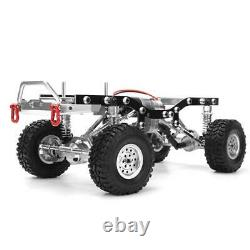 Metal RC Car Body Chassis Frame Kit for WPL C14 C24 1/16 Car Truck Silver
