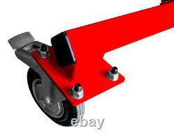 Motamec Universal Car Body Shell Chassis Trolley H-Duty Castors Bodyshell Dolly