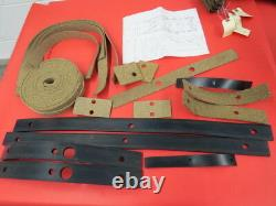 NEW 1935 1936 Ford Passenger car body to frame pad kit with instructions 48-5001