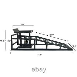 NEW A Pair Lift Repair Frame Auto Car Service Ramps Lifts Heavy Duty Hydraulic
