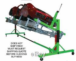 NEW AutoTwirler Rotisserie Corvette Sub Frame Body Mount Vehicle Car Adapter