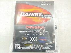 NEW Traxxas Bandit VXL 1/10 2wd Buggy Drag Car Roller Slider Chassis Metal Gears