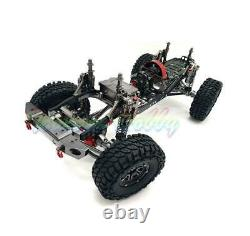 New 455MM 1/10 AXIAL RC Cars D90 CNC Rock Crawler Chassis Metal Model WithO Servo