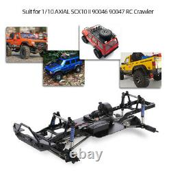 New AUSTAR 313mm Wheelbase Chassis Frame For 1/10 AXIAL SCX10 II 90046 RC CAR