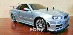 New Tamiya 1/10 RC Car No. 605 NISMO R34 GT-R Z-Tune TT-02D Chassis Drift Spec