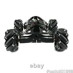 Omnidirectional Mecanum Wheel Robot Car Chassis Kit For Arduino Suspension pan