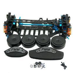 Plastic & Carbon Shaft Drive 1/10 RC 4WD Touring Car Frame Kit for TT01 TT01E