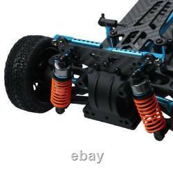 Plastic & Carbon Shaft Drive 1/10 RC 4WD Touring Car Frame Kit for TT01 TT01E US